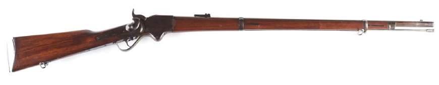 (A) Burnside Rifle Co. Spencer Model 1865 Lever Action