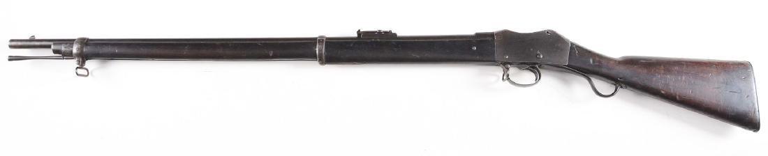 (A) Enfield Martini Mk II Single-Shot Rifle (1878). - 2