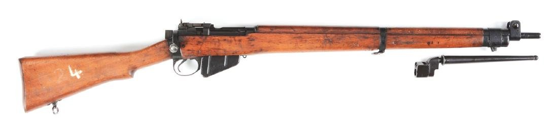 (C) Boxed Lee-Enfield No. 4 Mk II Bolt Action Rifle