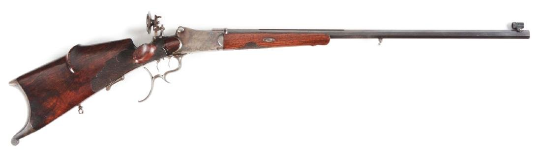 (A) Martini System 8.15x46R Schuetzen Rifle Named to