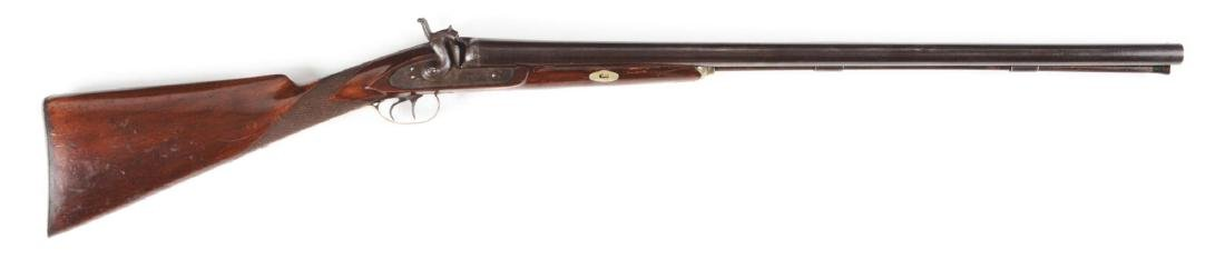 (A) Tryon 10 Bore Double Barrel Hammer Percussion
