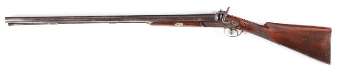 (A) Tryon 10 Bore Double Barrel Hammer Percussion - 2