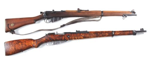 (C) Lot of 2: World War II Era Bolt Action Rifles