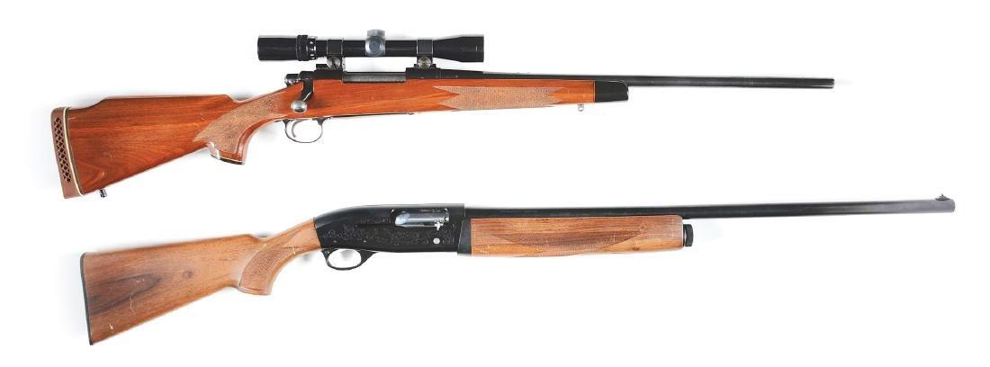 (M) Lot of 2: (A) Remington 700 BDL Bolt Action Rifle