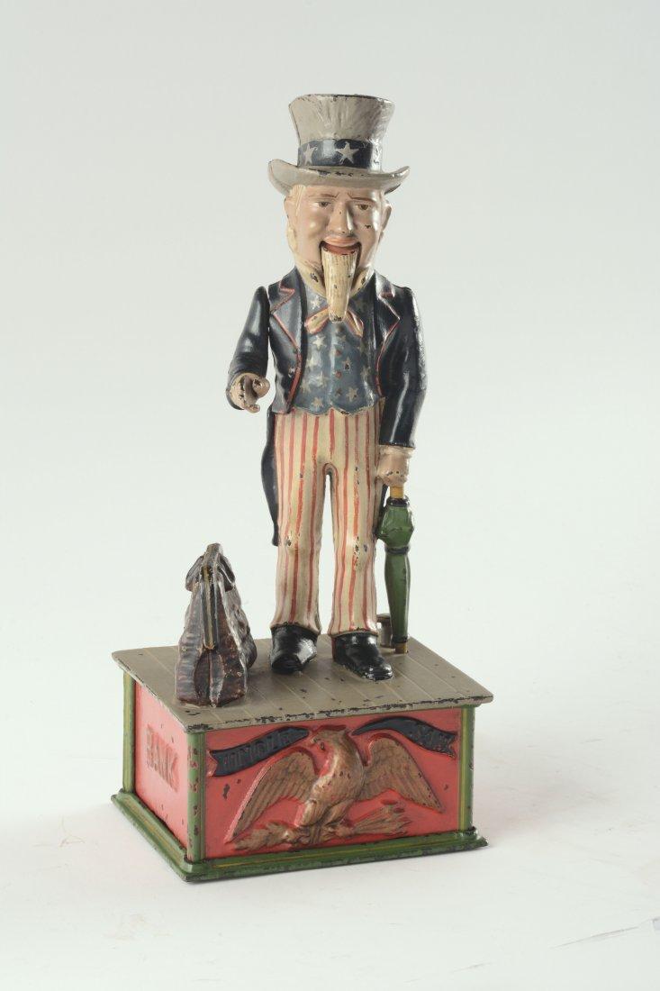Uncle Sam Mechanical Bank. - 10
