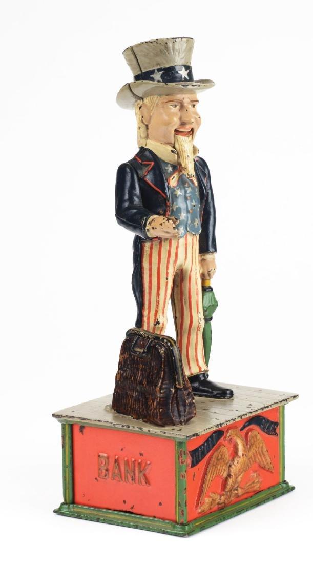 Uncle Sam Mechanical Bank. - 4