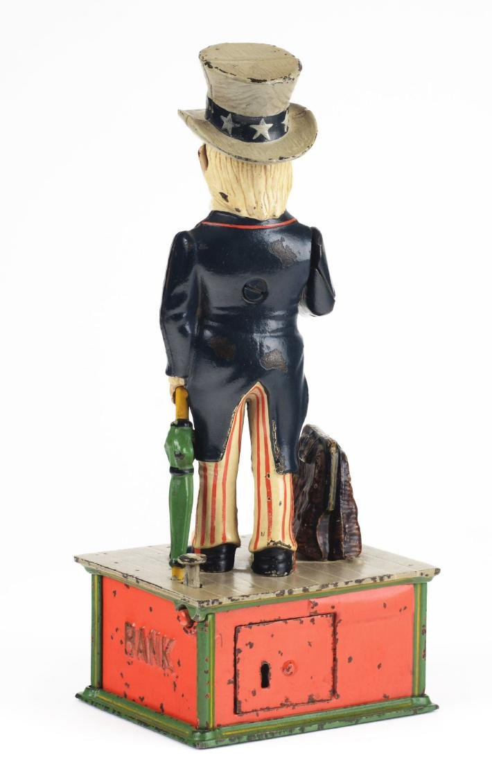 Uncle Sam Mechanical Bank. - 5