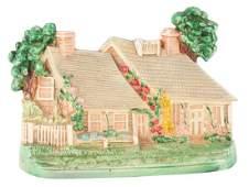 Cast Iron Cottage Hubley Doorstop.
