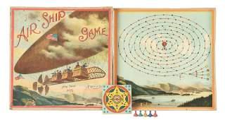 Early McLoughlin Bros Air Ship Game
