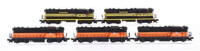 Lot Of 4: Lionel Diesel Locomotives.
