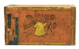Early Scarce Yellow Kid Cigar Box