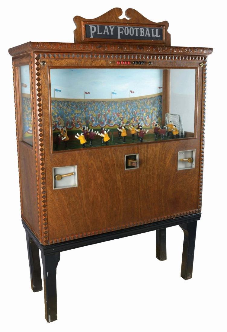 5¢ Chester Pollard Play Football Arcade Machine.