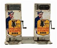 5 Double Postage Stamp Vending Machine