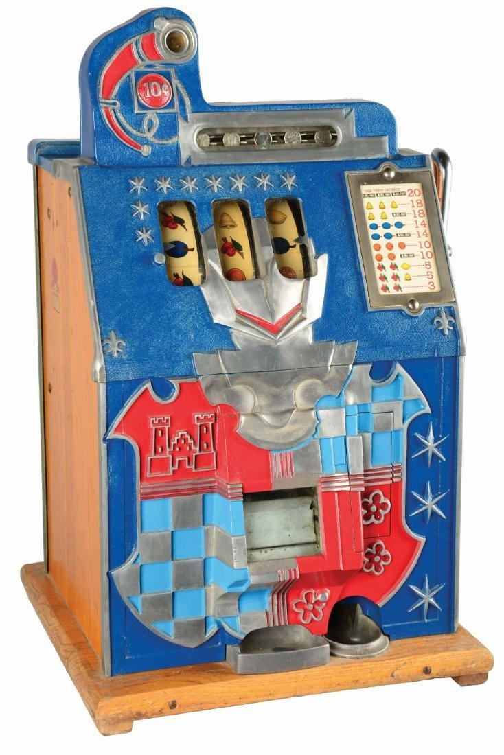 **10¢ Mills Novelty Co. Castle Front Slot Machine.