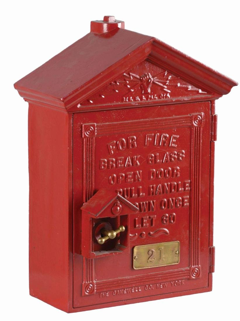 The Gamewell Co. Fire Alarm Box.