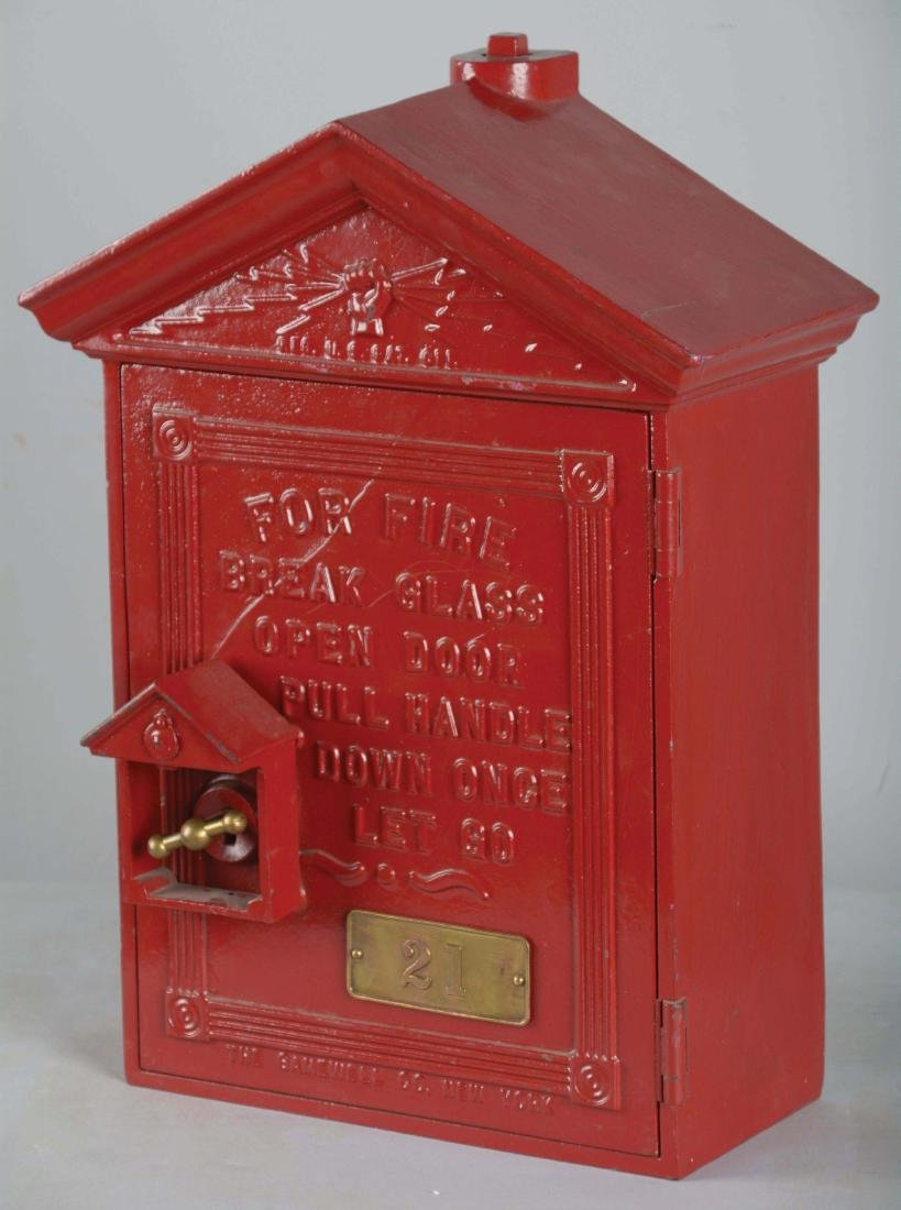 The Gamewell Co. Fire Alarm Box. - 3