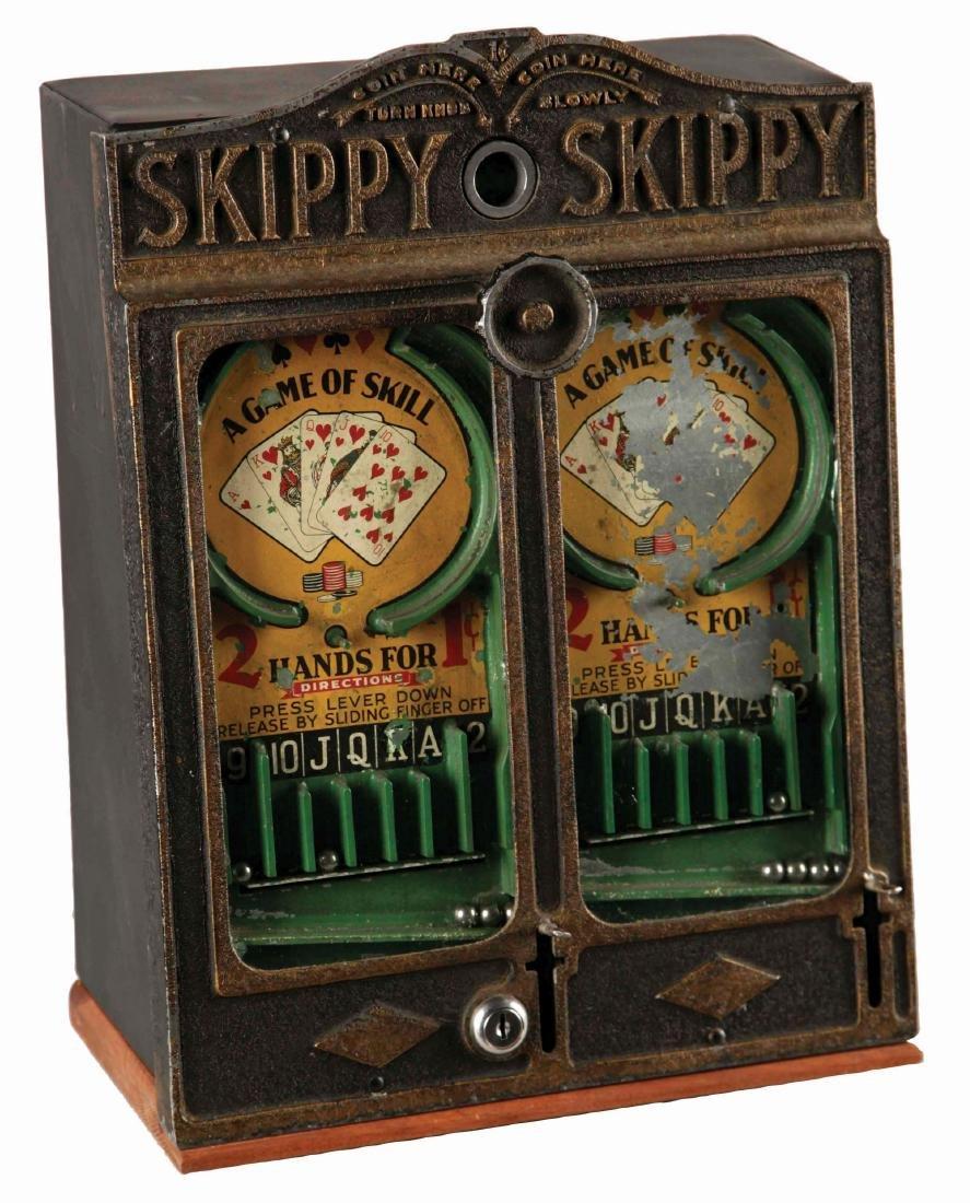 1¢ A.B.C. Coin Machine Co. Double Skippy Arcade Game.