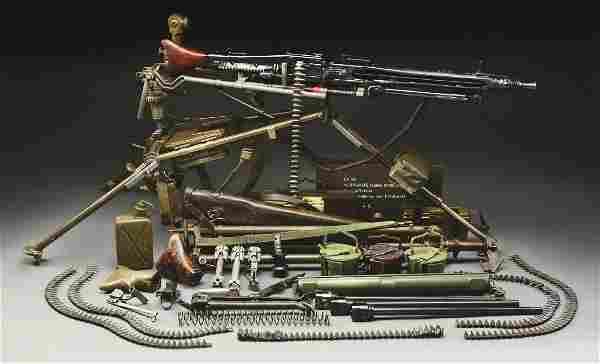 (N) ICONIC GERMAN WORLD WAR II MG-42 MACHINE GUN ON MG3