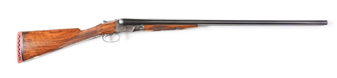 (C) Nicely Restored Parker CHE Shotgun with Straight