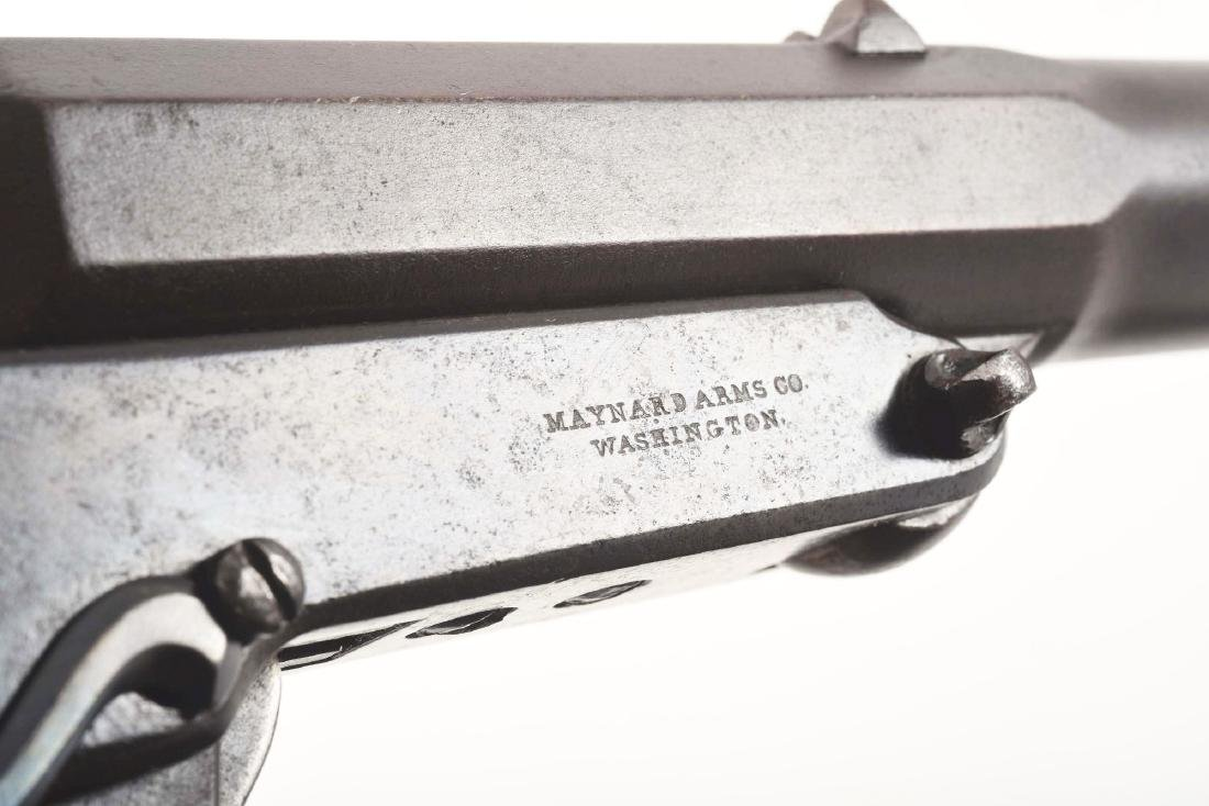 (A) SCARCE MAYNARD 1ST MODEL SADDLE RING CARBINE - - 10