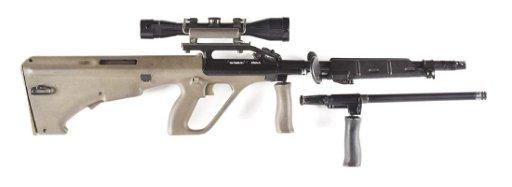 (N) STEYR AUG/A1 HEAVY BARREL MACHINE GUN (PRE-86