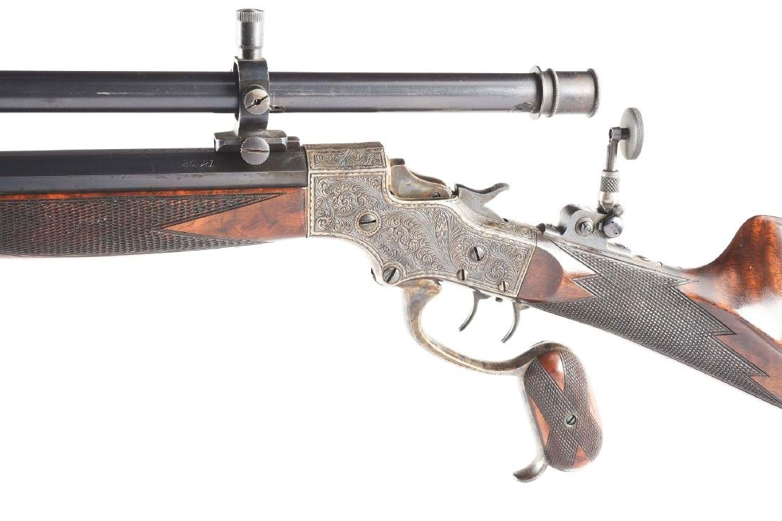 (A) Stevens 44 Action Model 54 Single Shot Rifle With - 4