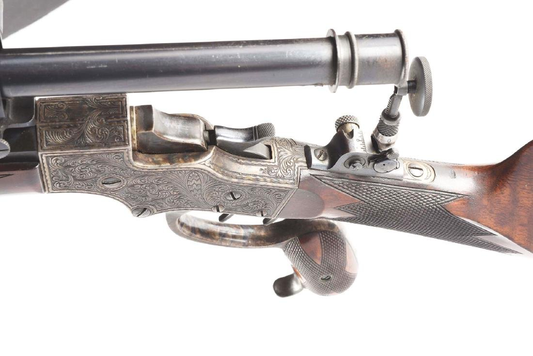 (A) Stevens 44 Action Model 54 Single Shot Rifle With - 7