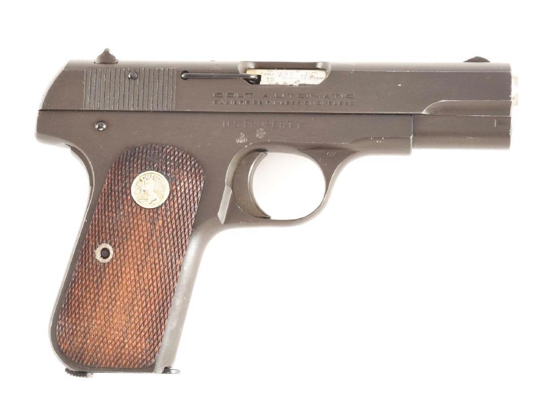 (C) Boxed British Proofed US Colt Model 1903 Hammerless