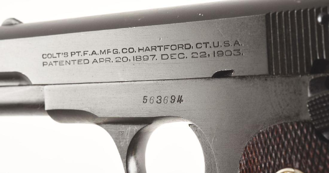 (C) Boxed British Proofed US Colt Model 1903 Hammerless - 5