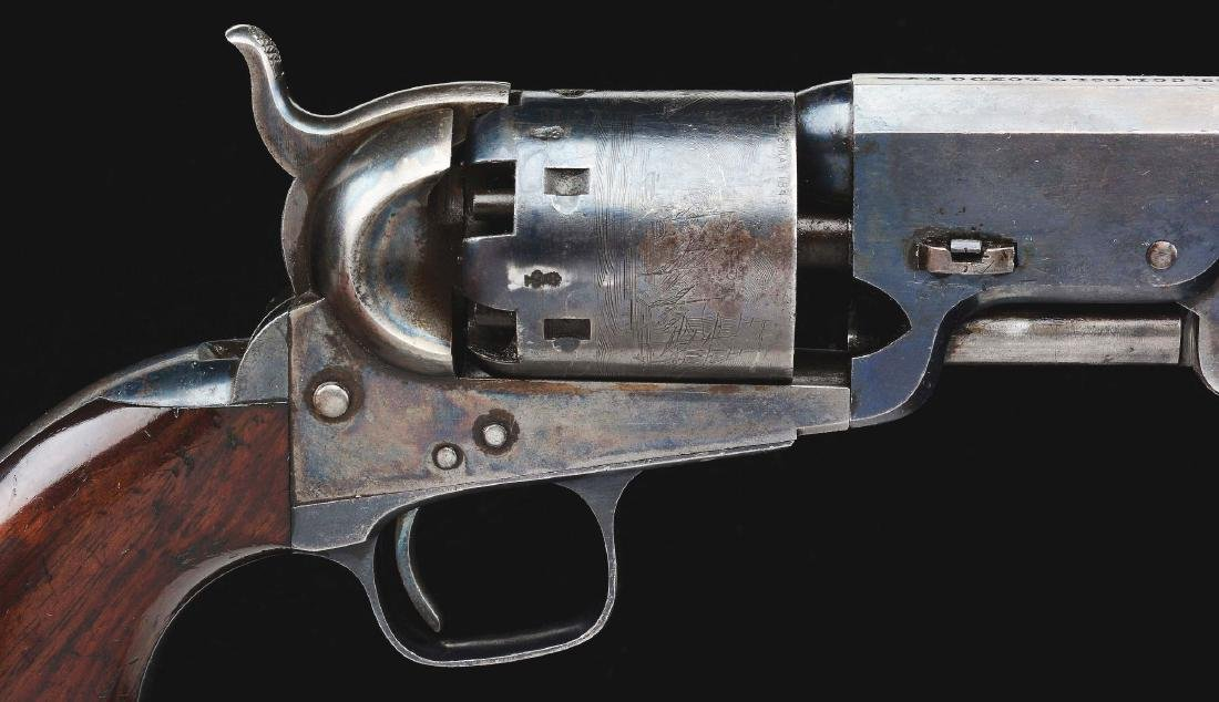 (A) RARE UPPER CANADA MARKED CASED COLT MODEL 1851 - 6