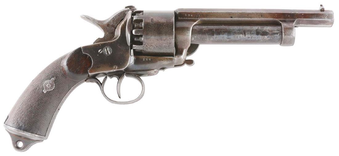 (A) Transitional LeMat Civil War Confederate Percussion
