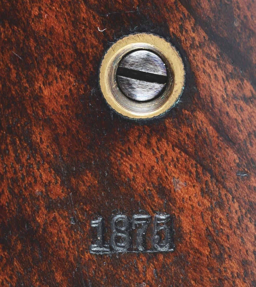 (A) U.S. ID MARKED REMINGTON MODEL 1875 REVOLVER. - 4