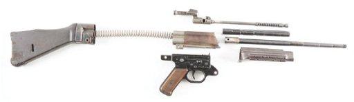 GERMAN MP-44 MACHINE GUN PARTS