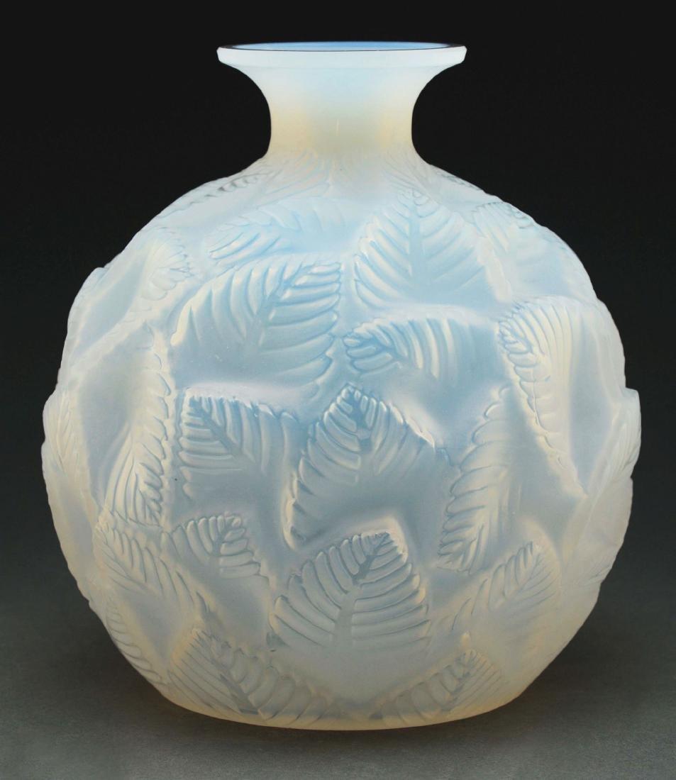 Rene Lalique Ormeaux Vase.