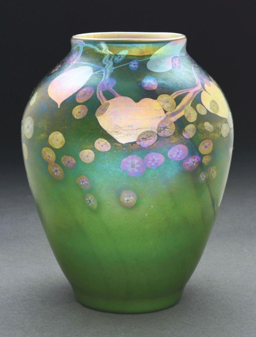 Tiffany Favrile Millefiori Vase.