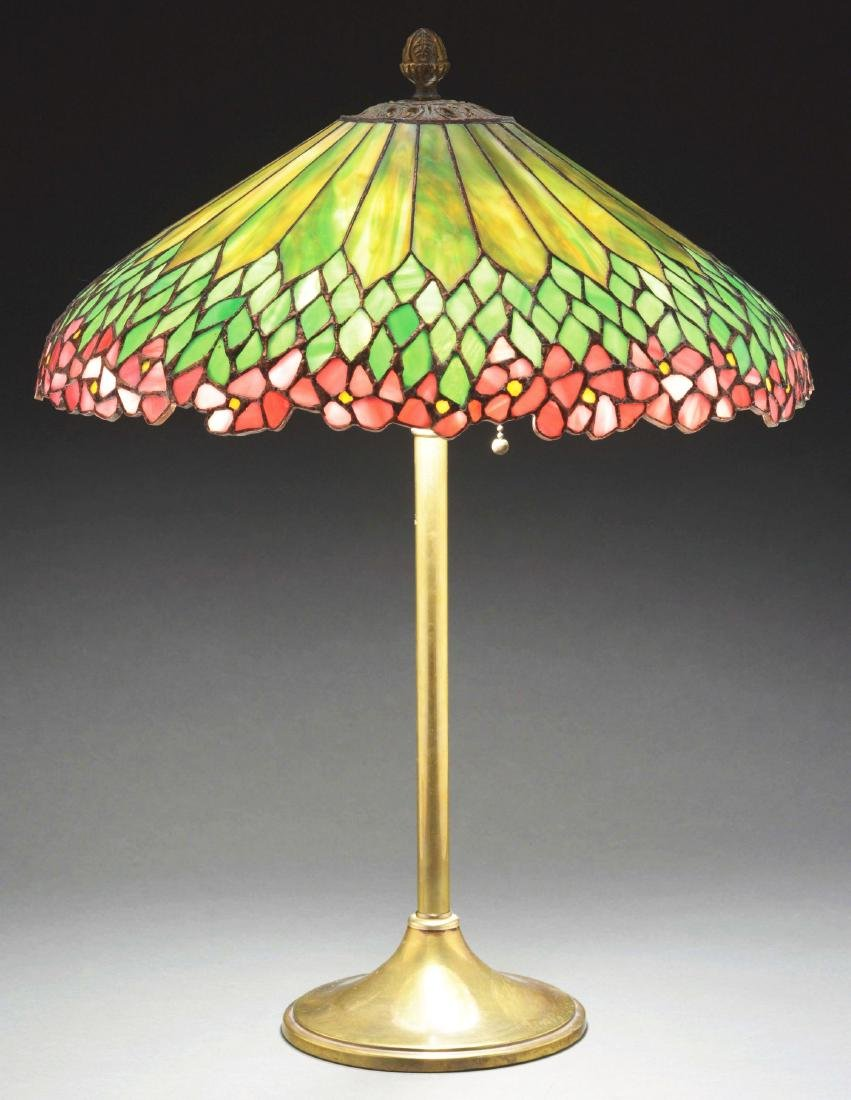 Leaded Glass Table Lamp.