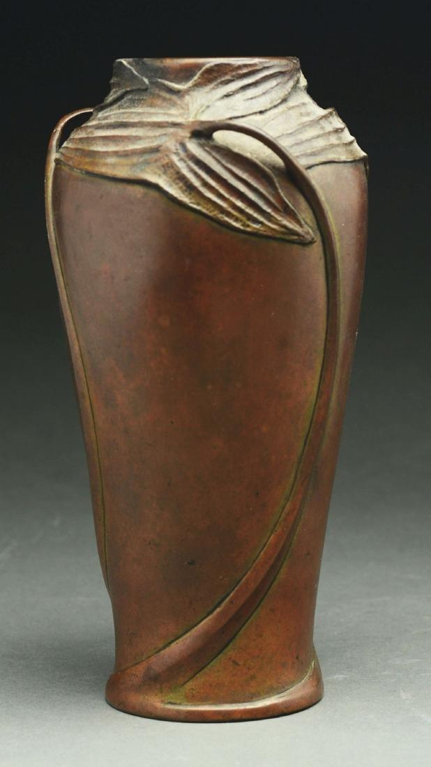 Bronze Art Deco Vase.