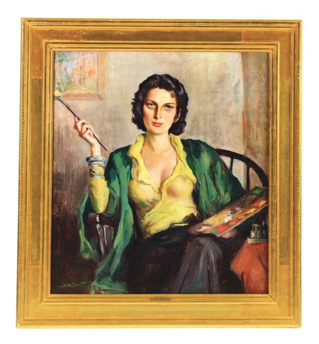 LOUISE SCHACHT (American, 1908-1988) SELF PORTRAIT.