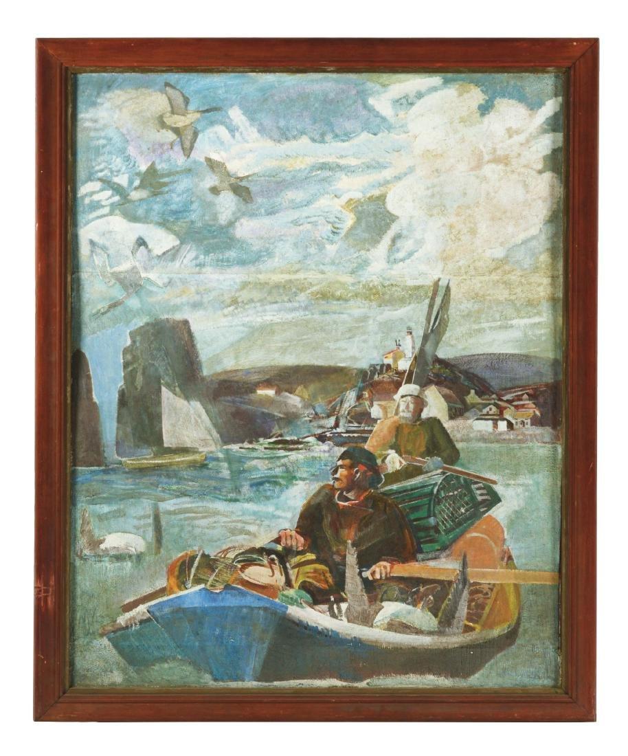 GEORGE MATHEWS HARDING (American, 1882-1959) NEW