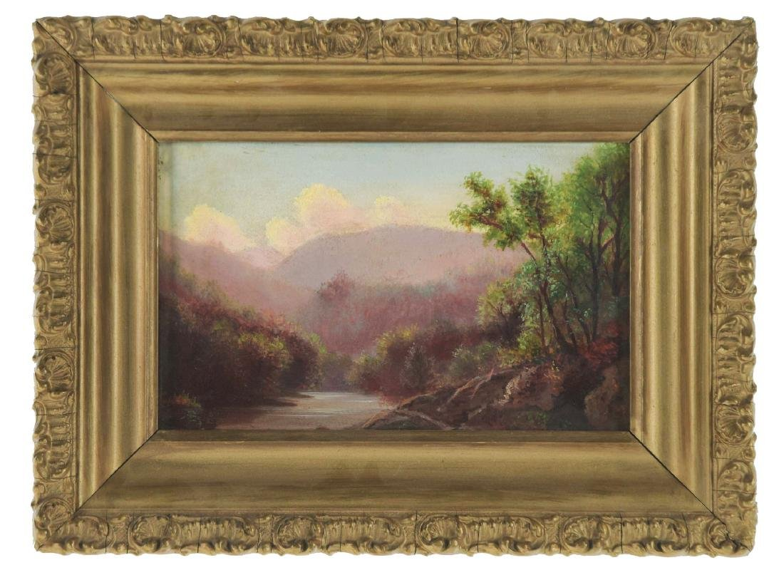 AMERICAN SCHOOL (late 19th century) LANDSCAPE WITH