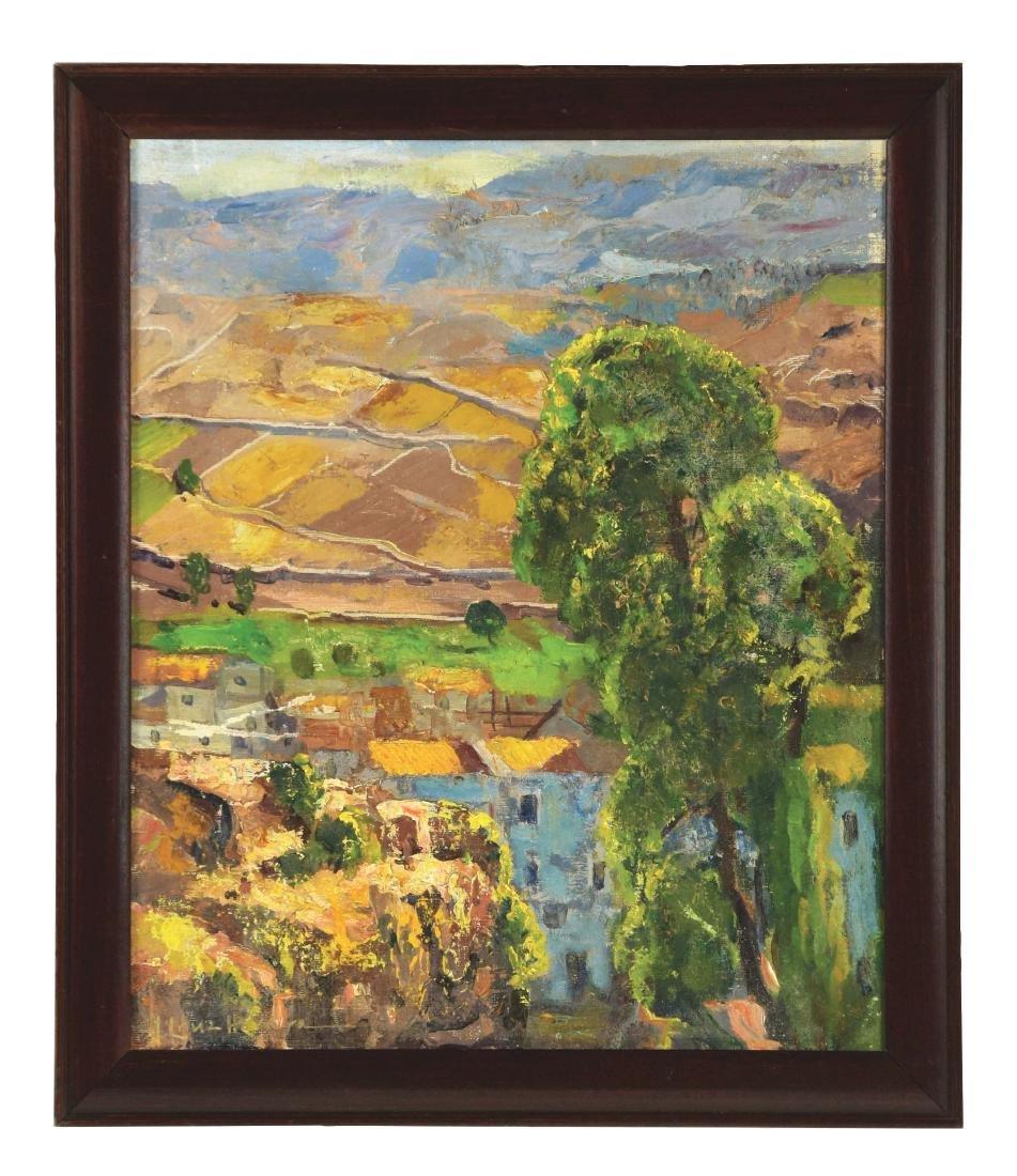 JOSE CRUZ HERRERA (Spanish, 1890-1972) MORROCAN