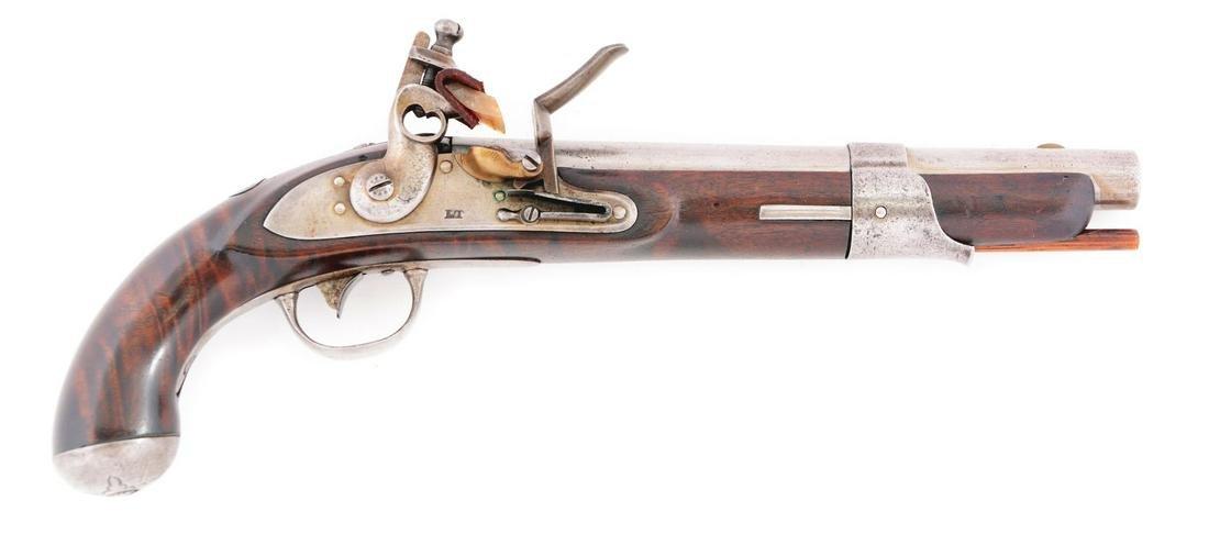(A) RARE POSSIBLY UNIQUE AMERICAN FLINTLOCK SINGLE SHOT