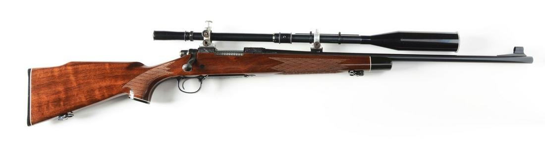 (M) DELUXE ENGRAVED REMINGTON MODEL 700 WITH FECKER
