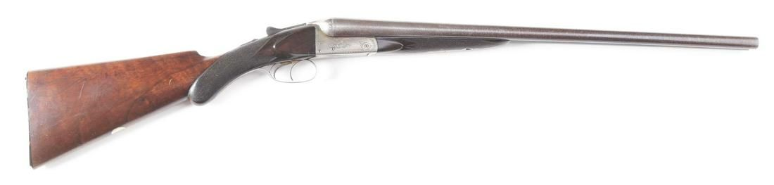 (C) W.C. SCOTT BOXLOCK SIDE BY SIDE SHOTGUN WITH