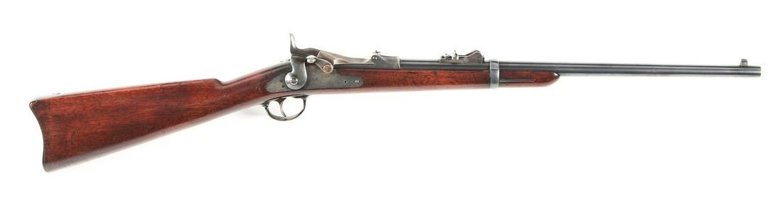 (A) HIGH CONDITION US SPRINGFIELD MODEL 1879 SADDLE