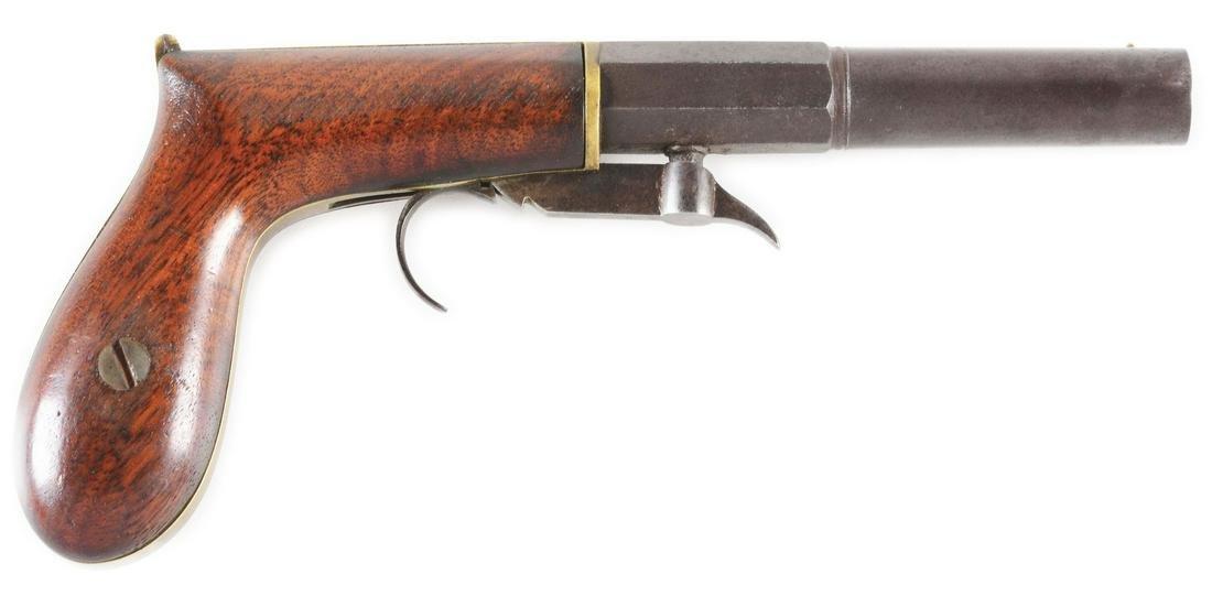 (A) W. ASHTON UNDERHAMMER SINGLE SHOT PERCUSSION BOOT