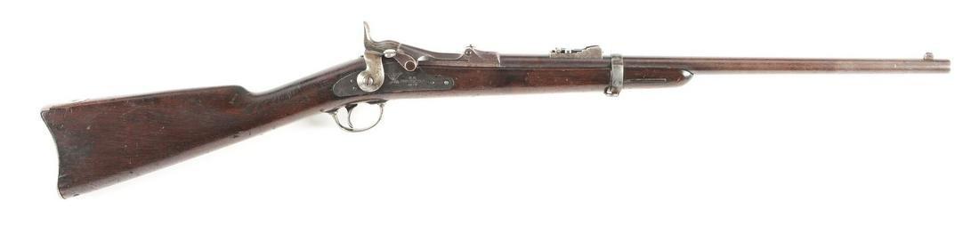 (A) FINE EARLY CUSTER 7TH CAVALRY RANGE US MODEL 1873
