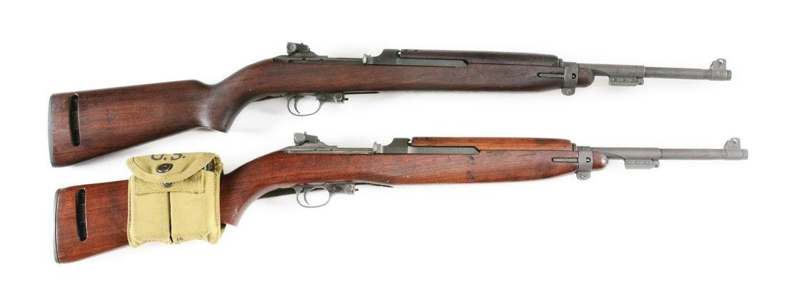 (C) LOT OF 2: INLAND AND IRWIN-PEDERSON M1 CARBINES