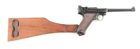 C DWM 1917 DATED NAVY LUGER SEMIAUTOMATIC PISTOL