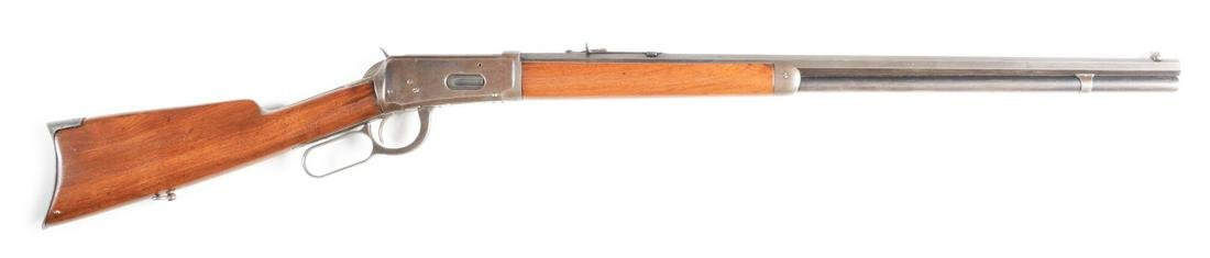 (C) WINCHESTER MODEL 1894 LEVER ACTION RIFLE (1906).